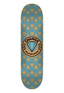 Shape Change Marfim - Diamond Logo AZUL - + LIXA grátis