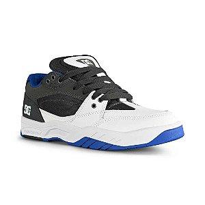 Tênis DC Shoes Maswell – Black / White / Blue - EXCLUSIVO