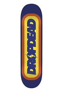 """Shape Drop Dead skateboard Rayo Azul 8.0"""" - + Lixa grátis"""