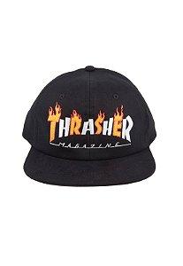 Boné Thrasher Magazine Flame Mag Snapback