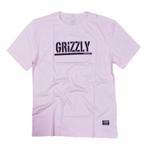 CAMISETA GRIZZLY STAMPED TEE - PINK