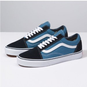 TÊNIS VANS OLD SKOOL CLASSIC - NAVY WHITE