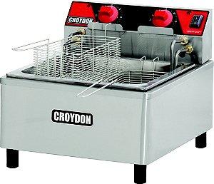 Fritadeira elétrica, 12 L (óleo) / 2 cestos / 41 x 50 x h 37cm / 8000w / 220v
