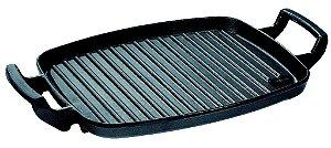 Chapa grill alça ferro / 30 x 24cm