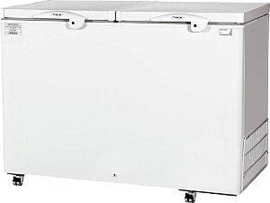 Refrigerador / congelador dupla ação horizontal