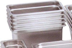 cubas GN 2/3 - 35,3 x 32,5cm - inox, sem alça