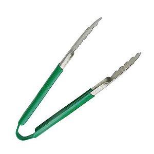 Pegador inox /cabo verde /30cm