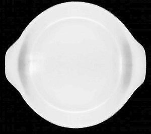 Forma Redonda refratária / diam 19cm / h 4cm / kit 4 peças