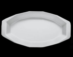 Forma refratária losangular / 34 x 17cm / h 4cm