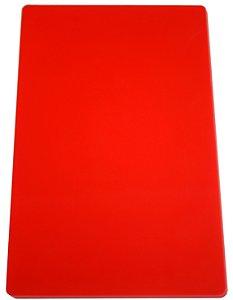 Placa em altileno / 15x500x300mm / vermelha