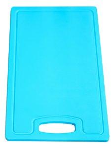 Placa em altileno / 15x500x300mm / azul / Canaleta