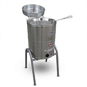 Fritadeira eletrica agua 14lts /e oleo 24lts inox 220v / 5000w (474703)