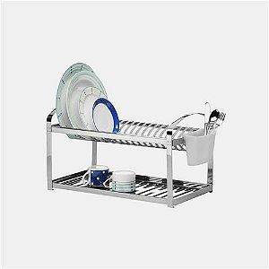 Escorredor 20 pratos / 60x27x29cm