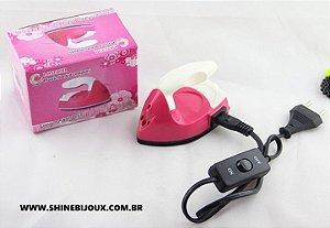 Mini Ferro Patchwork/HotFix Multifunções Bivolt Shine Beads®