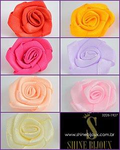 Flor de Cetim Rococó 20mm Shine Beads®