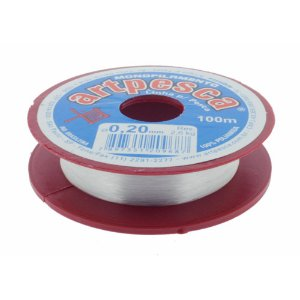Fio linha de Nylon Artpesca® Monofilamento Multiuso de 0,20 a 0,60mm