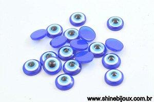 Chaton Olho Grego 8 e 10mm em Resina para colagem