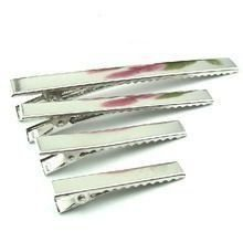 Bico de Pato Quadrado para Cabelos Níquel  Shine Beads® 35/45/55/65 MM
