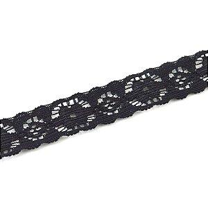 Renda Elastano 15mm para faixas e bordados Shine Beads®