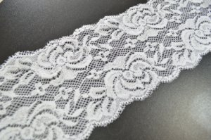 Renda Elastano 75mm para faixas e bordados Shine Beads®