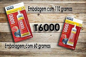 T6000 cola Tekbond linha Artesanato multiuso 110 ou 60grs