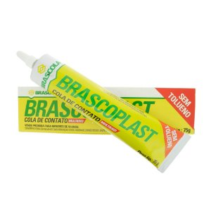 Cola de contato Brascoplast® sem tolueno 75g