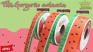 Fita gorgurão estampa melancia  Gitex® N˚05 / 09 / 12