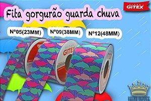 Fita gorgurão estampa Guarda chuva   Gitex® N˚05 / 09 / 12