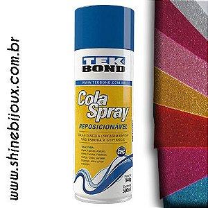 Cola Spray Reposicionável TEK BOND® 500ml (340grs)
