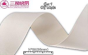 Fita Sanding® Gorgurão lisa Nº09 /38mm Varias cores