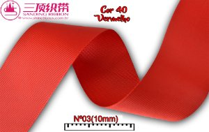 Fita Sanding® Gorgurão lisa Nº02 /10mm Varias cores