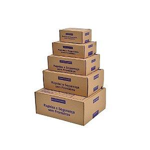 Caixas papelão ondulado Tipo correio embalagem