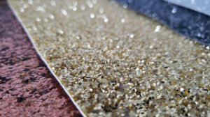 Lonita Glitter Flocada   (PU)  para laços tiaras chinelos 24x40cm
