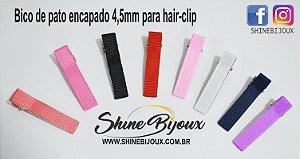 Bico de pato encapado para Hair clips 45mm (4,5cm)