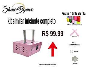 kit maquina para cortar fita similar ( Maquina + moldes+alicate+pinça) GRÁTIS 10 MTS FITA