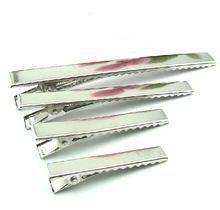 Bico de Pato Quadrado para Cabelos Níquel  Shine Beads® 35/40/45/55/65/75 MM
