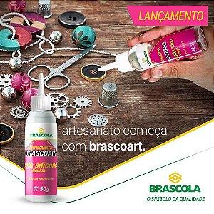 Cola silicone liquida Brascoart Brascola® 50 GRS