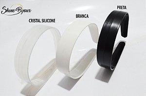 Tiara 30mm (3cm) extra larga plástica resistente