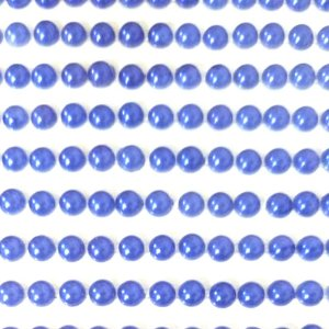 Meia Pérola sticker ABS 4mm cartela autocolante Shine Beads®