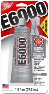 Cola E6000® Glue Craft Adhesives 29,5ml (1.0 fl oz) Precision tips com bicos de precisão