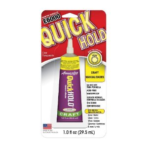 Cola E6000® QuickHold Amazing 29,5ml - Cola de contato transparente e de secagem rápida