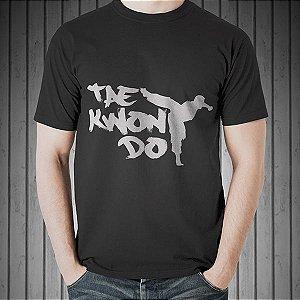 Camiseta Taekwondo Masculina Preta