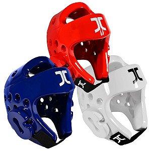 Kit Protetor de Cabeça JCalicu Azul, Vermelho e Branco