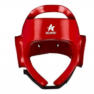 Protetor de Cabeça Taekwondo Sulsport Vermelho