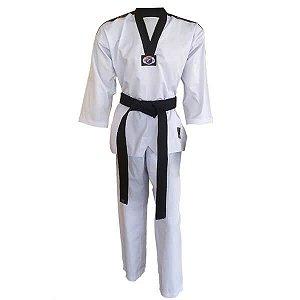 Dobok Kimono Taekwondo Sungja Olimpic Gola Preta