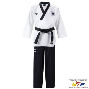 Dobok Kimono Taekwondo JCalicu Diamond Dan Poomsae Masculino WTF