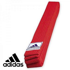 Faixa Graduação Vermelha Adidas Club