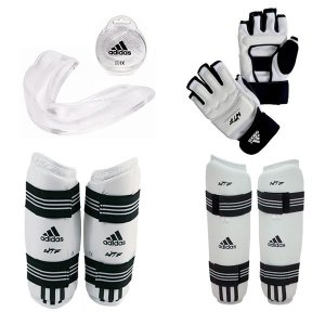 Kit Adidas Taekwondo WTF Kyorugui II