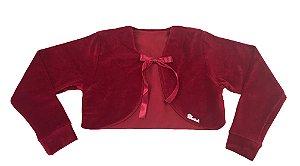 Casaco Teen de Plush Vermelho