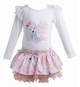 Conjunto Infantil Urso Polar